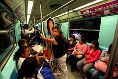 IMG_5888 (rastamaniaco) Tags: street city subway mexico calle df metro ciudad modelo mujeres vagon pantitlan