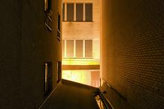Between Brick Buildings