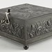 283. Figural Silverplate Lockbox