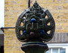 Every day is Christmas Day at St Nicholas House! (Tim NW) Tags: somerstown gilbertbayes doultonware sidneyestate