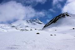 Clouds and Snow (cjaraf) Tags: chile mountain snow hot water nieve springs valley mountaineering montaña aguas termas chillan calientes montañismo montaa