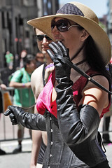 San Francisco Pride 2012 (Daluke) Tags: sanfrancisco leather fashion costume model hats parade lgbt corset sanfranciscopride leathergloves