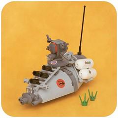 Strahl S/18 Feuerorgel (pasukaru76) Tags: sdr lego mak hovercraft moc strahl canon100mm