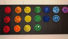 Chakra Wheels of Energy (2006) by Beena Rugnathji (Fresh Gallery Otara) Tags: visualart otara southauckland pacificart artsalebeena rugnathji