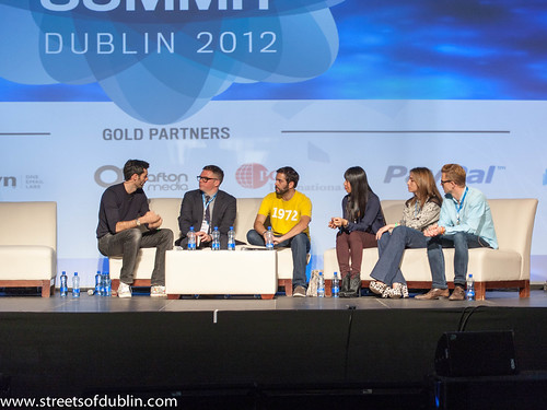 Matt Cowan Meets Chris Morton, Diego Berdakin, Shauna Mei, Carl Fritjofsson  And Olivia Gossett: Dublin 2012 Web Summit
