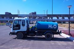 Truck (tamon,inc.) Tags: water truck h2o land sendai readjustment