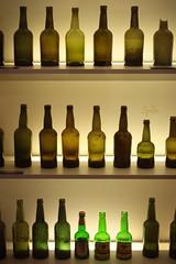 Bottles (ms holmes) Tags: broken beer museum bottles many empty leer several greens grün viele kaputt bierflaschen einbeck abgebrochen grüntöne canoneos1000d