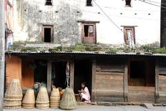 Grand Bazaar in Pokhara (Nepal) (Marjan de B) Tags: old travel nepal vacation history shop architecture shopping october asia culture historical bazaar pokhara cultural 2012 deblaauwpix