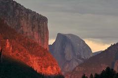 More sun (2 of 7) (gcquinn) Tags: california usa fall dusk geoff valley yosemite quinn halfdome conference geoffrey elcapitan 2012 folliage cardiac