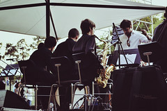 Banda (Valéria Daniluski) Tags: music banda ar natural live evento som maestro sax música livre