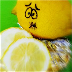 Bitter lemon :-o (Cathlon) Tags: silly green face yellow fun lemon humorous acid sunday cartoon humour sharp laughter bitter brrr week43 flavour monthlytheme theflickrlounge scavchal22 52weeks2012
