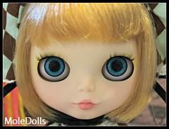 New Blythe OOAK Custom Doll N.43 by MoleDolls