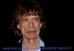 Mick Jagger (iron_smyth48) Tags: red portrait white man celebrity english film face shirt hair carpet star eyes event jacket singer premiere celeb rollingstones