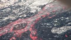 HAWAII / VIEW FROM HELICOPTER TOUR OF MOLTEN LAVA IN VOLCANO NATIONAL PARK (JIMBO787) Tags: hot rock flow volcano hawaii lava tourist steam glowing hilo jimbo kilauea molten helicoptertour lavaflow puuoo moltenlava lavariver bigisand puoo kiliuea jimbo787 bluehawainhelicopter