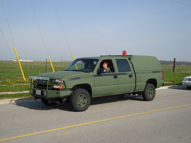military police canadian chevy silverado 1500 forces