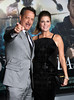 Tom Hanks and Rita Wilson Premiere of 'Cloud Atlas' at Grauman's Chinese Theatre Hollywood