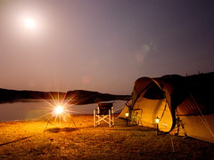 OFFWORLD EXPEDITION - 1ST (Astro Zhang Yu) Tags: china travel camping moon lake nature offroad 4x4 tent nomad innermongolia offworld