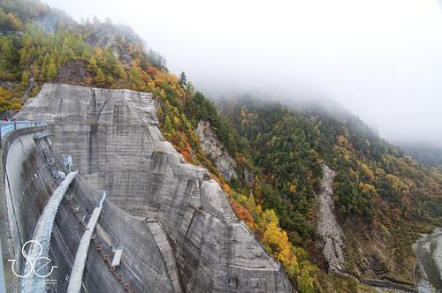 Japan Alps - Kurobe Dam 006