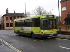 K&H Doyle M801PRA Derby (Guy Arab UF) Tags: man bus ex buses derbyshire trent independent barton doyle kh derby vecta optare 11190 m801pra