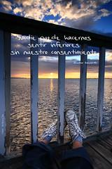 NADIE (Cani Mancebo) Tags: espaa sunrise spain explore murcia amanecer sanpedrodelpinatar lopagn canimancebo