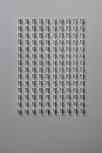 Herman Coppus papier reliëf 50 x 70 cm
