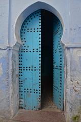 Chefchaouen - Morocco (Minigeekette) Tags: door colors morocco chaouen chefchaouen