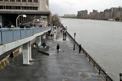 East River Promenade post-Sandy (RealMattKane) Tags: nyc newyork manhattan sandy eastriver fdrdrive fdr eastriverpromenade frankenstorm hurricanesandy