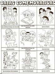 Datas Comemorativas - 1001 Maneiras de Alfabetizar. (Atividades Educação Infantil) Tags: apostilas alfabetização datascomemorativas 1001maneirasdealfabetizar