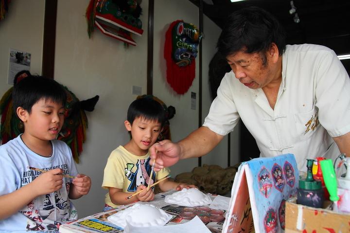 2012國民旅遊D2(鹿港桂花巷藝術村,ㄕ公館工坊)0014