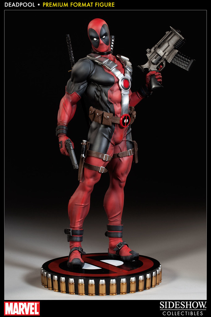 最歡樂的超級英雄又來了!~Sideshow 推出死侍 1/4比例雕像