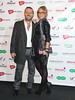 Jenny Frost and partner Vicente Juan Spiteri