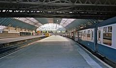Glasgow Queen Street HR Scan (Deepgreen2009) Tags: station train scotland railway clear 101 local fortwilliam platforms terminus dmu westhighlandline glasgowqueenstreet