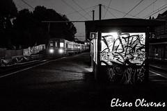 Nightmare Station (Eliseo Oliveras) Tags: street city brussels urban halloween night dark gloomy belgium belgique belgie sinister bruxelles bruselas nightmare brussel belgica eliseo oliveras eliseooliveras eliseooliveras