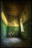 silent my song (biancavanderwerf) Tags: old light reflection building green abandoned window yellow stone germany shadows decay urbanexploration walls bianca dreamcatcher urbex