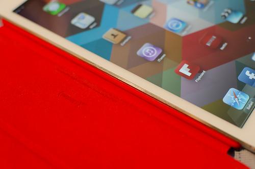 iPad Mini (Product) Red closeup