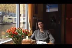 Klemen Prosenjak at PhilDutch Houseboat  Bed and Breakfast in Amsterdam (PhilDutch Amsterdam Bed and Breakfast ,) Tags: tussaud london amsterdam friend room slovenia madam ef quintana efren klemen phildutch forstudents prosenjak hotelhouseboatbedandbreakfastcheapaccommodationinthecenter