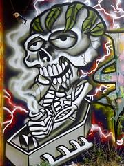 Utrecht Graffiti - Grindbak (Akbar Sim) Tags: holland netherlands utrecht nederland grindbak akbarsimonse akbarsim
