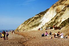 Alum Bay (John A King) Tags: bay seaside sand coloured isle wight iow alum