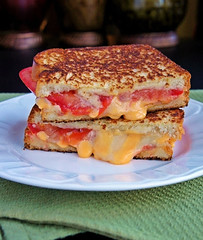 Tomato Bacon Swiss Grilled Cheese (Kitchen Life of a Navy Wife) Tags: