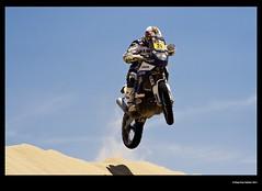 Jump (idoazul) Tags: desert rally motorbike moto desierto dakar coches ica paracas peru dakar2013