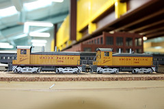 Union Pacific Wyoming Division (twm1340) Tags: county railroad arizona scale up train layout utah ut model gm pacific general union az motors huge wyoming ho division ogden cheyenne wy switcher 1094 verdevalley yavapai emd nw2 1085 2013 cornville