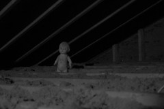 20/365 Freaky little friend (Scattereee) Tags: weird scary doll freaky creepy beam joyce attic compositiondoll
