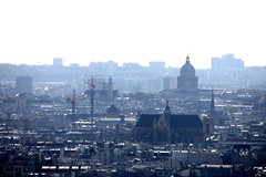 View over Paris from Montmartre (Mairead D) Tags: winter paris france architecture french photography frankreich europe european cityscape