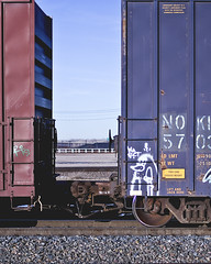 PHRITE (Electric Funeral) Tags: railroad art digital train canon photography graffiti midwest nebraska paint railway iowa railcar traincar wa omaha boxcar graff aerosol freight fact freighttrain phrite councilbluffs benched benching xti freighttraingraffiti