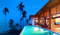 W Retreat Koh Samui—Residence Exterior - Dusk
