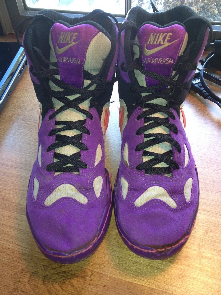 purchase cheap 62f0c c2d47 Nike Air reversals size 10 GONE for Jordan s (sambutler106) Tags  shoes  purple 10