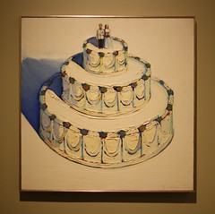 Wedding Cake (ktmqi) Tags: art cake painting newjersey weddingcake popart artmuseum waynethiebaud newarkmuseum