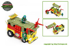 "TMNT Party Wagon (""Orion Pax"") Tags: pizza splinter leonardo michelangelo raphael donatello tmnt ninjaturtles shredder turtlepower cowabunga teenagemutantheroturtles partywagon orionpax herosinahalfshell legoturtles turtlesvan turtlesbus"