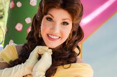 Belle (EverythingDisney) Tags: new dress princess disneyland disney belle newdress dlr princessbelle