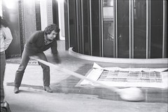 "Mustafa Altnta, ""33me Salon de la Jeune Peinture"" Exhibition, Grand Palais, Paris, 1982 (SALTOnline) Tags: saltaratrma saltresearch saltonline 33mesalondelajeunepeinture grandpalais paris 1982 mustafaaltnta"